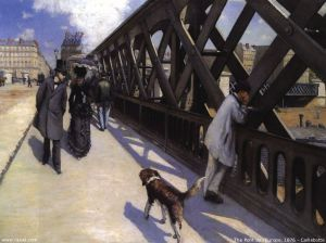 Gustave Caillebotte oil paintings - The Pont de L Europe, 1876, ml0004