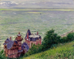 Gustave-Caillebotte-Villas-at-Trouville-1884-Impressionism-Paintings-281